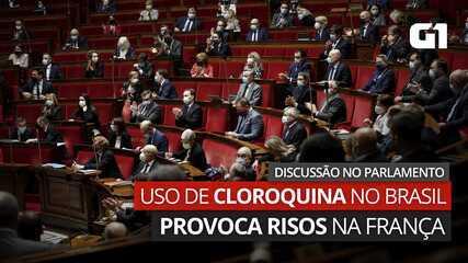 VÍDEO: Primeiro-ministro francês cita uso de cloroquina no Brasil para rebater deputado e provoca risos