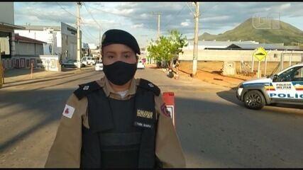 Veja vídeo gravado pela Tenente Sara sobre operação realizada pela Polícia Militar em MG