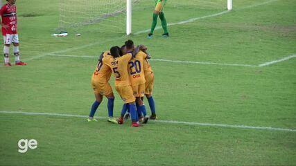 O gol de Tiradentes-PI 1 x 0 River-PI pela rodada 8 do Campeonato Piauiense
