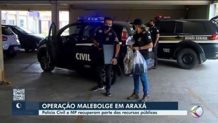 Após colaborações premiadas, cerca de R$ 3 milhões serão restituídos à Prefeitura de Araxá