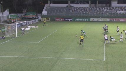 Goiás e Aparecidense empatam por 1 a 1 na Serrinha; veja os gols