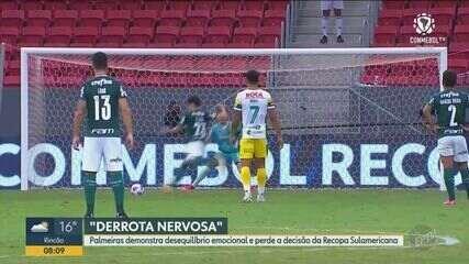 Palmeiras perde o jogo e a Recopa Sul-Americana para o Defensa y Justicia