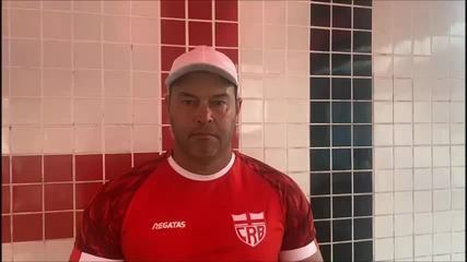 Técnico do CRB, Roberto Fernandes fala sobre motivação para enfrentar o Bahia