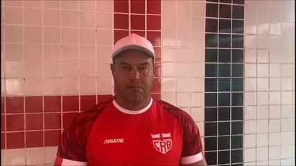 Roberto Fernandes avalia elenco do CRB
