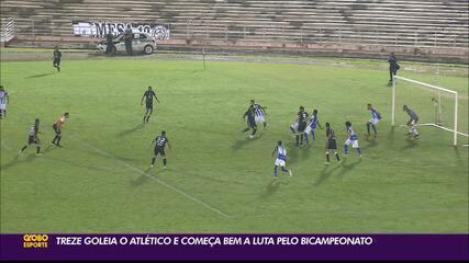 Treze goleira o Atlético-PB na abertura do Campeonato Paraibano
