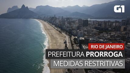 VÍDEO: Medidas restritivas são prorrogadas no Rio até o dia 27; veja o que pode e o que não pode