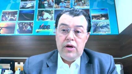 CPI da pandemia: Omar Aziz (PSD-AM) será presidente; Renan Calheiros (MDB-AL) o relator