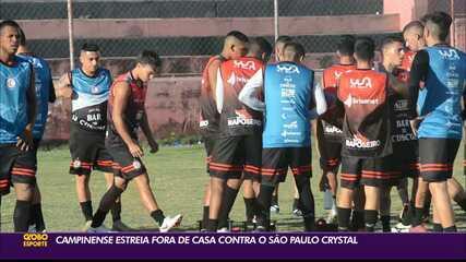 Campinense está pronto para estrear no Campeonato Paraibano
