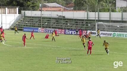Gavião e Castanhal empatam no Zinho Oliveira. Assista aos gols da partida
