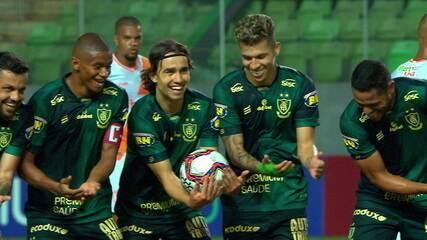 Melhores momentos: América-MG 2 x 0 Coimbra pela 10ª Rodada do Campeonato Mineiro