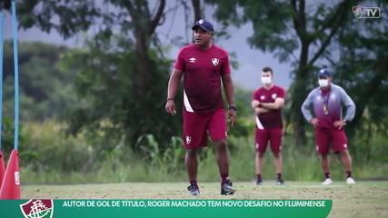 Autor de gol de título, Roger Machado tem novo desafio no Fluminense