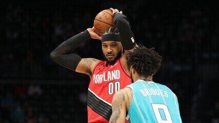 Melhores momentos: Charlotte Hornets 109 x 101 Portland Trail Blazers pela NBA