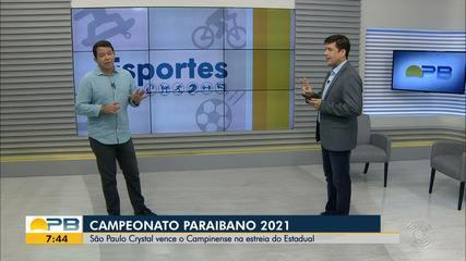 Campinense perde para o São Paulo Crystal na estreia do Campeonato Paraibano