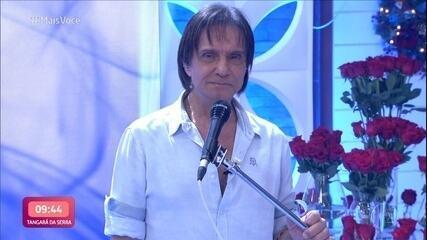 Relembre a participação de Roberto Carlos no 'Mais Você'