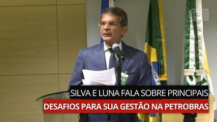VÍDEO: Silva e Luna fala sobre principais desafios para sua gestão na Petrobras