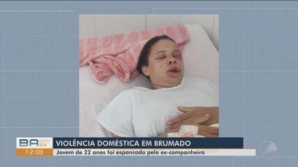 Jovem de 22 anos é internada após ser agredida pelo ex-companheiro em Brumado