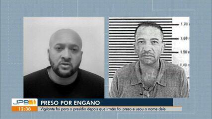 Vigilante foi preso por engano, na Paraíba