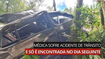 VÍDEO: Após 28 horas à espera por socorro, médica que sofreu acidente em SC é resgatada