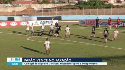 Assista ao gol da vitória do Paysandu sobre o Independente-PA