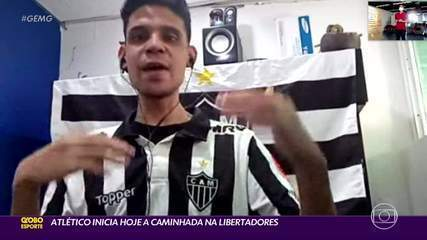 Atlético inicia hoje, na Venezuela, a caminhada na Libertadores