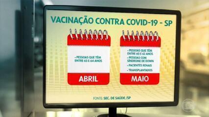 Ministério da Saúde orienta a vacinação das pessoas com doenças pré-existentes das mais velhas para as mais jovens