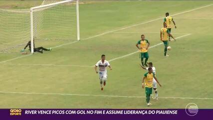 River-PI vence Picos e complica a situação da SEP no Piauiense 2021
