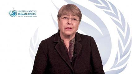 VÍDEO: Michele Bachelet se pronuncia sobre o veredicto do caso George Floyd