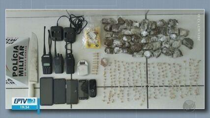 Quatro são presos e um apreendido suspeitos de tráfico de drogas em Poços de Caldas