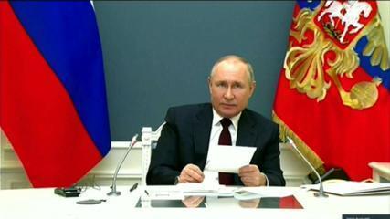 VÍDEO: Vladimir Putin discursa na Cúpula de Líderes sobre o Clima