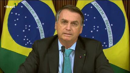 Discurso de Bolsonaro na cúpula do clima tem metas ambiciosas e pedido de verba