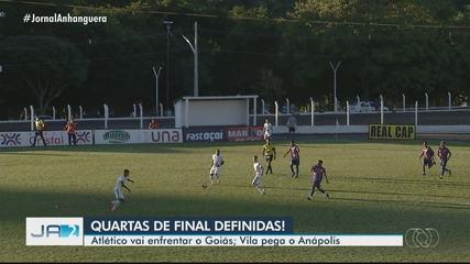 Atlético enfrenta o Goiás nas quartas; veja os gols da última rodada