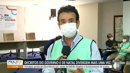 Para governo do RN, decreto deve manter restrições para evitar terceira onda