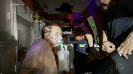 In Iraq, 82 persone sono morte in un incendio in ospedale per pazienti Covid-19