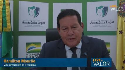 Mourão: Governo quer reduzir desmatamento até julho para destravar Fundo Amazônia