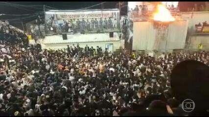 Tragédia em festival religioso mata 45 em Israel