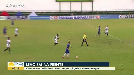 Em jogo de polêmicas, Remo vence o Águia, em Marabá, por 3 a 1