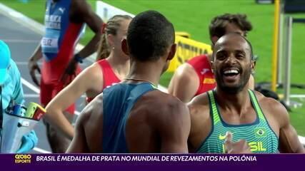 Brasil é medalha de prata no Mundial de Revezamentos na Polônia