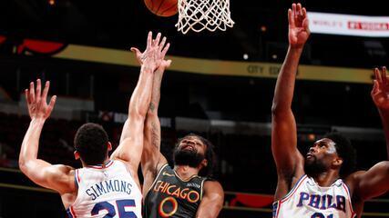 Melhores momentos: Chicago Bulls 94 x 106 Philadelphia 76ers pela NBA