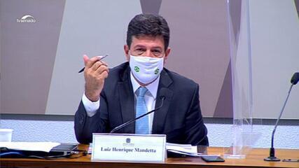 'Eu torcia muito para aquelas teorias de que o vírus não ia chegar no Brasil', diz Mandetta