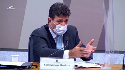 Mandetta diz que Bolsonaro foi alertado sobre gravidade da pandemia