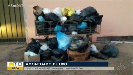 Moradores reclamam do atraso da coleta de lixo em Gurupi