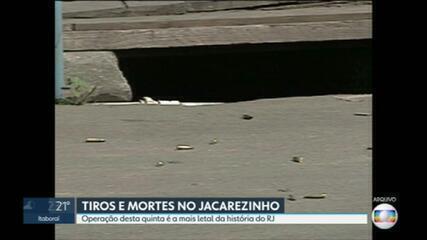 Operação no Jacarezinho é a mais letal da história do RJ