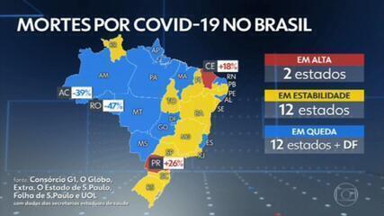 Brasil chega a 15 milhões de casos confirmados de Covid