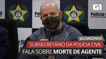 VÍDEO: Subsecretário Operacional da Polícia Civil fala sobre morte de agente no Jacarezinho