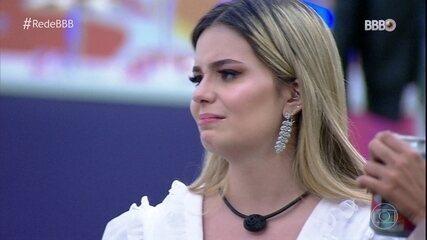 Viih Tube se emociona ao ver Juliette no BBB Dia 101: 'Fiz muito mal para ela'
