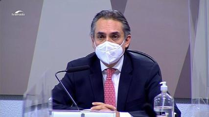 CPI da Covid: Carlos Murillo relata reunião com Wajngarten e Carlos Bolsonaro