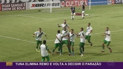 Amapaense Dedé é destaque na vitória da Tuna sobre Remo na semifinal do Parazão