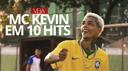 VÍDEO: MC Kevin em 10 hits