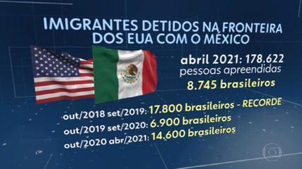 Número de pessoas detidas ao cruzar a fronteira México-EUA em abril é o maior em 20 anos