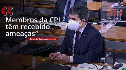 """Randolfe: 'Membros da CPI têm recebido ameaças"""""""